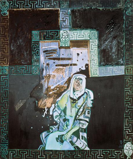 """Зеленое спокойствие"", 155 х 130 см, холст/масло, 1989"